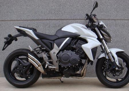 Les pots Ixrace font muer la Honda CB1000 R.