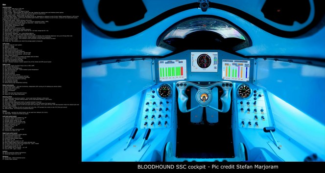 Bloodhound SSC: dans le cockpit de la voiture supersonique capable de 1600 km/h