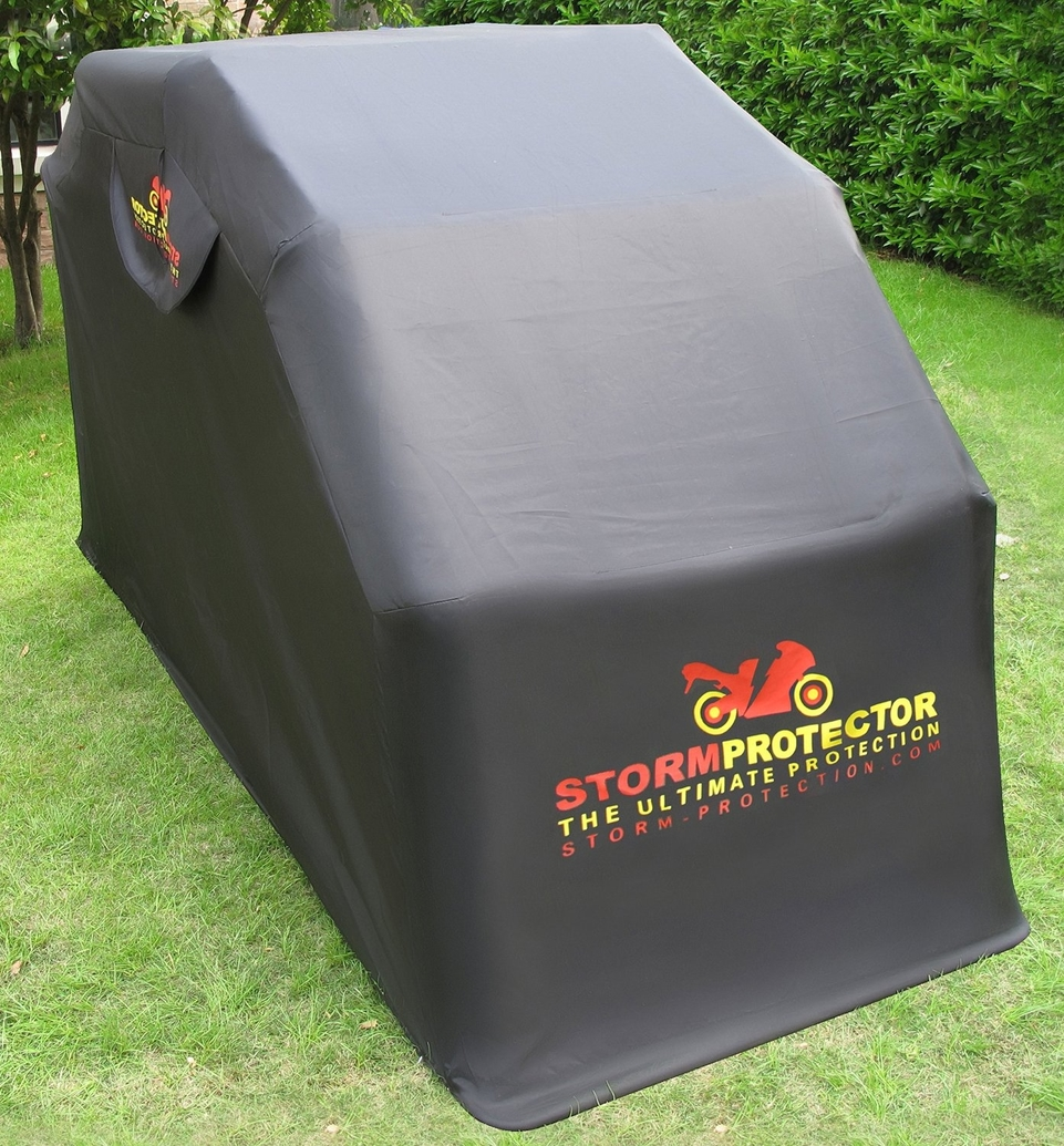 Idée cadeau : Abri pour moto, StormProtector et Bike Home