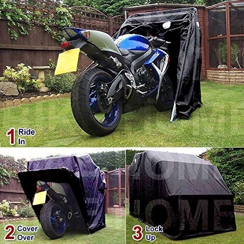 id e cadeau abri pour moto stormprotector et bike home. Black Bedroom Furniture Sets. Home Design Ideas