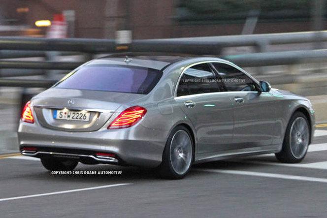 Surprise : voici la future Mercedes Classe S