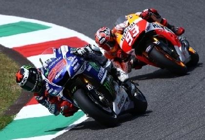 Moto GP - Italie: Marc Marquez malgré un grand Lorenzo