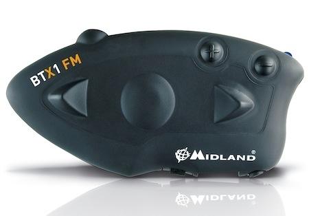 Midland BT-X1 FM: radio inside