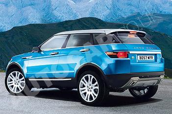 Futur Land Rover LRX: en 3... et 5 portes!