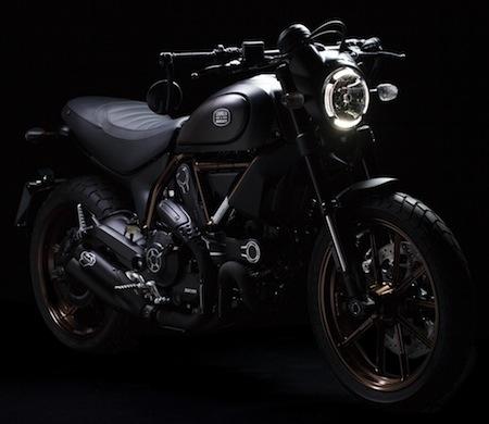 Ducati/ Italia Independent : 1077 exemplaires de ce Scrambler sauce café racer