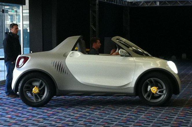 Détroit 2012 : le concept Smart for-US en avance