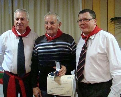 La FFM rend hommage à Jules Vimond, le père de Denis, Jacky et Christian