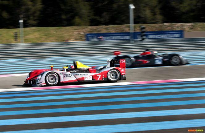 LMS 8h du Castellet - qualifications: la Peugeot 908 Oreca devant l'Audi R15+