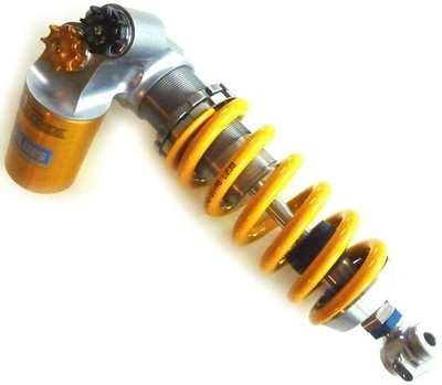 Ohlins « up grade » la version R de la RSV4.