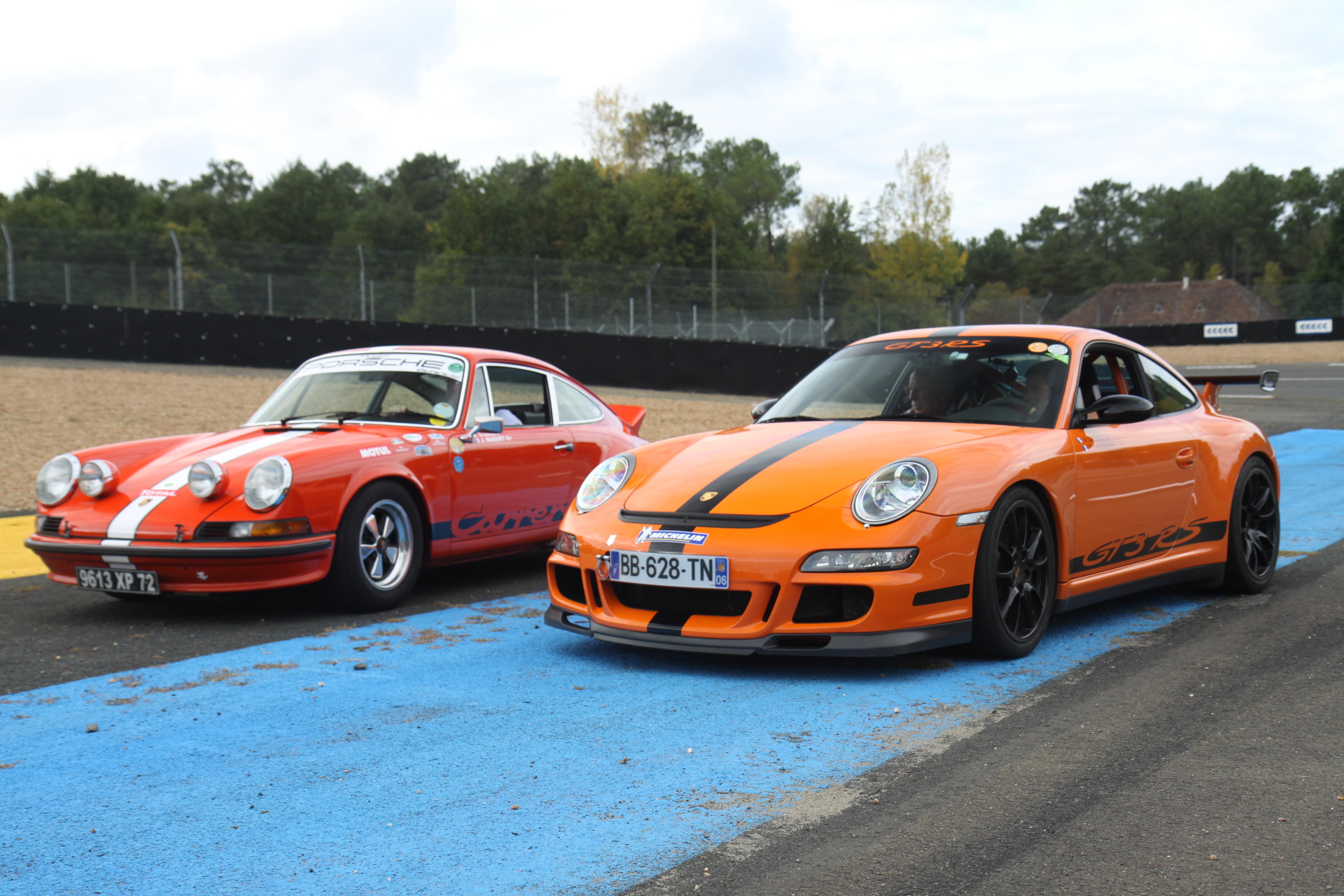 porsche 911 carrera rs 1973 vs 911 gt3 rs lancienne mord encore - Porsche Ancienne