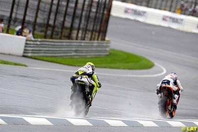 Moto GP - Japon D.1: Nicky sur la lancée d'Indy, sous la pluie