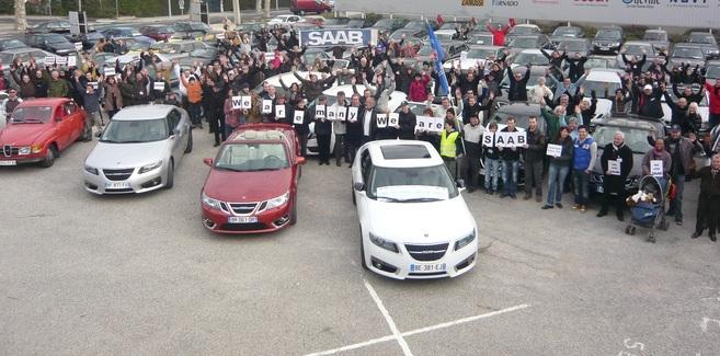 Rassemblement national Saab à Salon de Provence