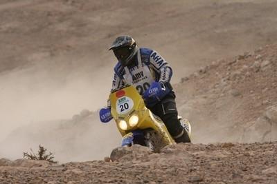 Rallye du maroc, la 3ème étape est privée de soleil...