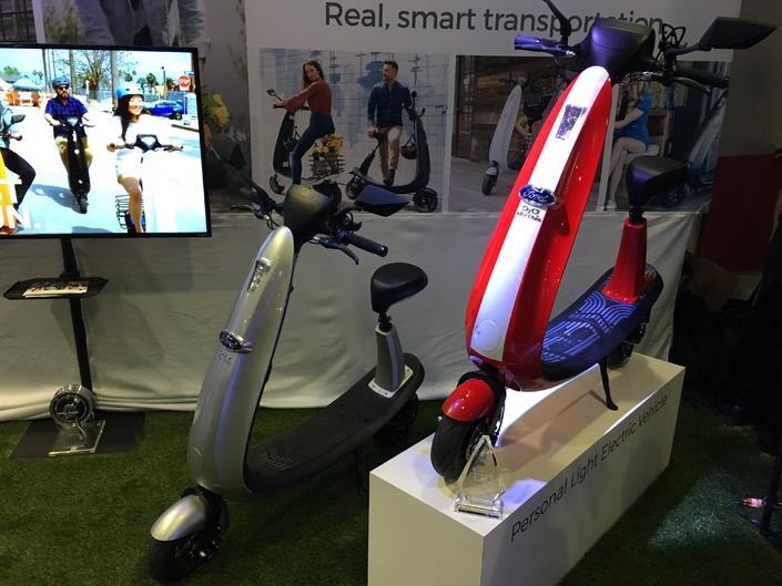 OJO Electric : des scooters électriques en partenariat avec Ford - Vidéo en direct du CES Las Vegas 2018