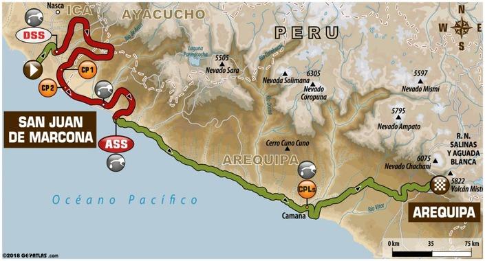 Dakar - étape 4 : Van Beveren gagne et Sunderland abandonne