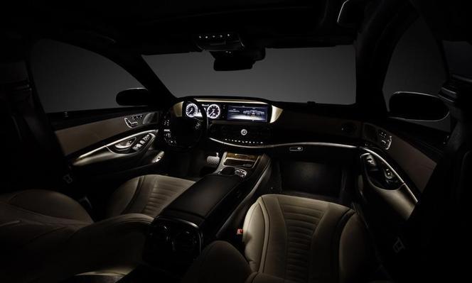 Mercedes Classe S : premières photos de l'intérieur
