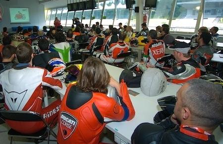 Ducati Riding Experience à Assen le 10 juillet 2014