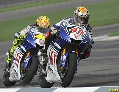 Moto GP - Japon: Rossi a des soucis avec l'avant, Lorenzo avec l'arrière