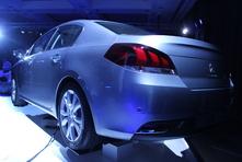 Peugeot 508 restylée : Caradisiac était à la présentation officielle à Londres