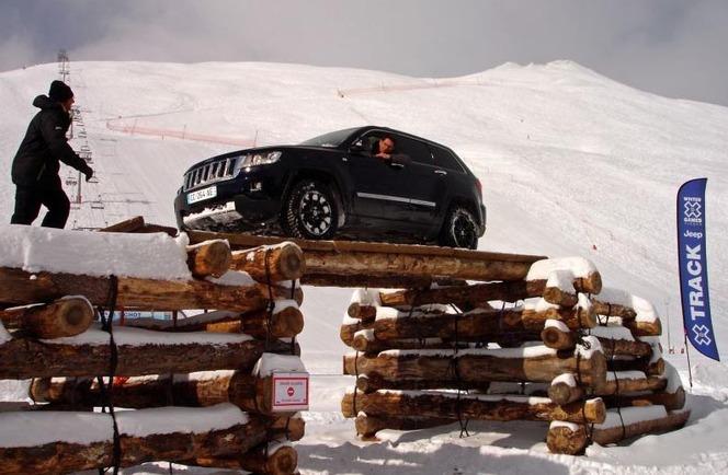 Jeep aux X Games de Tignes 2013