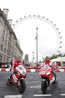 Londres, rouge de plaisir