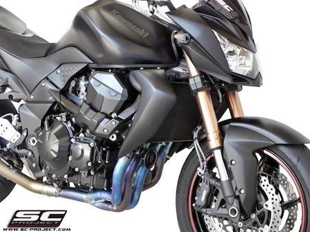 SC Project: du titane pour la Kawasaki Z 750 (R)