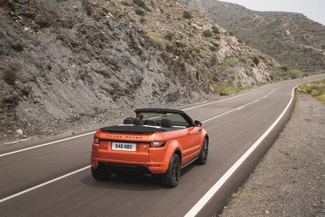 Land Rover Range Rover Evoque Cabriolet : officiel