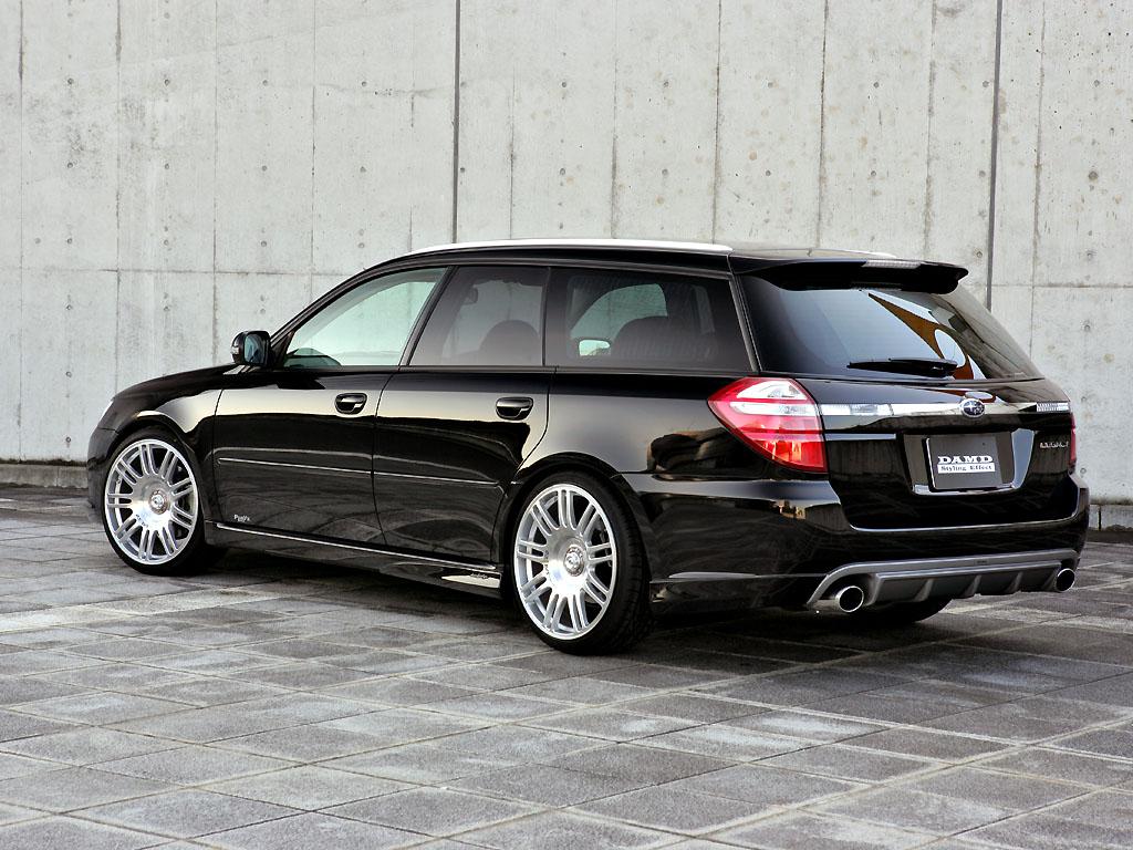 Subaru Legacy Station Wagon by DAMD : Audi ?
