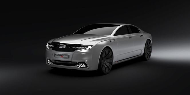 Qoros 9 Sedan Concept: le constructeur chinois n'a pas froid aux yeux!
