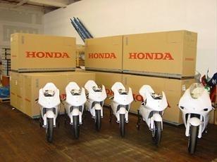 125: Honda se retire !