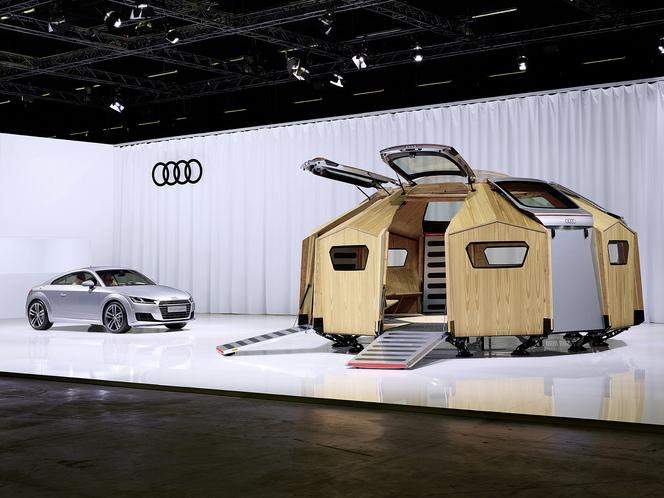 "Un ""Pavillon Audi TT"" au salon Design Miami de Basel"