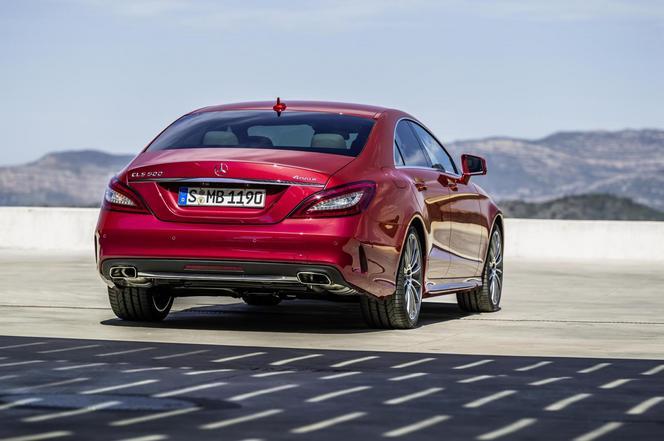 La Mercedes CLS restylée dévoilée