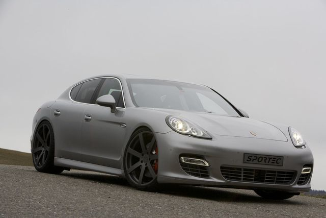 Porsche Panamera Sportec, chic et sportive