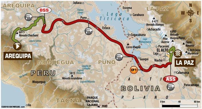 Dakar - étape 5 : Joan Barreda dompte les dunes