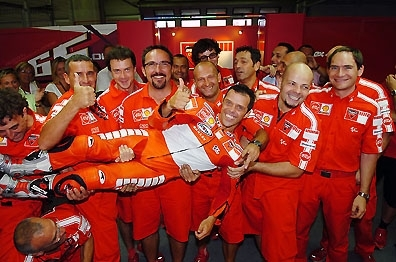 Moto GP: Capirex et Ducati pour un an de plus