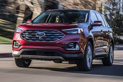 Le Ford Edge après restylage.