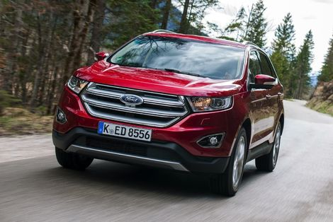 Le Ford Edge tel qu'on le trouve en vente actuellement.