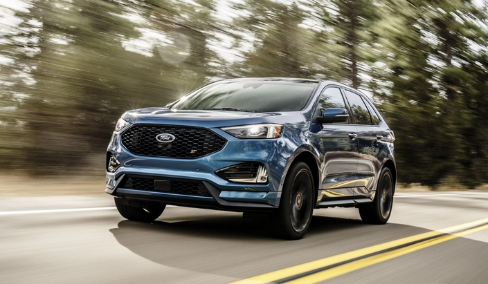 Salon de Detroit 2018 - Ford Edge : un restylage et une version sportive ST
