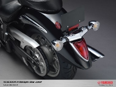 XVS1300A Midnight Star : le nouveau cruiser de Yamaha