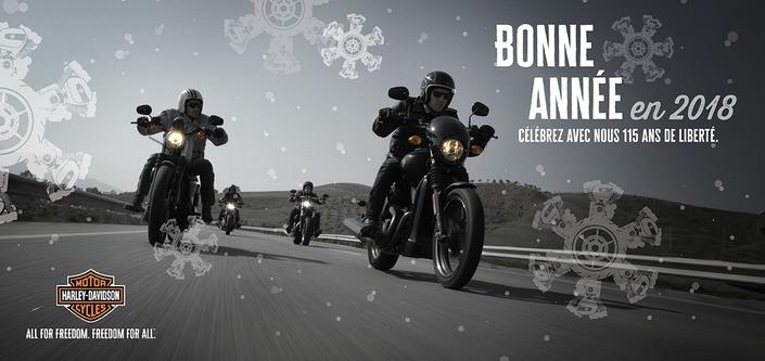 2018 : le programme des festivités chez Harley-Davidson
