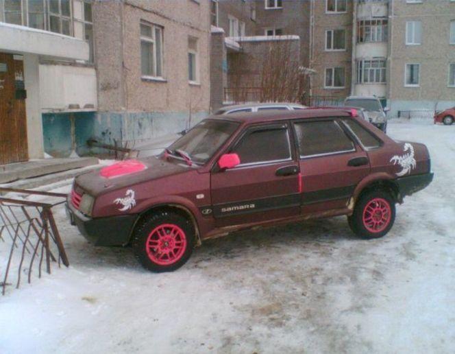 Quelques beautés en provenance de Russie...