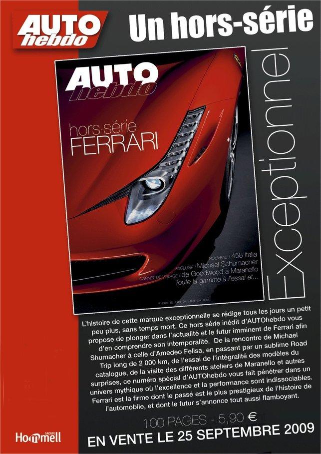 Auto Hebdo : un hors-série Ferrari exceptionnel