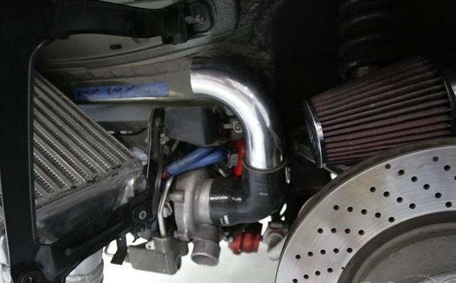 Porsche 997 Turbo Vivid Racing, 800 chevaux électriques
