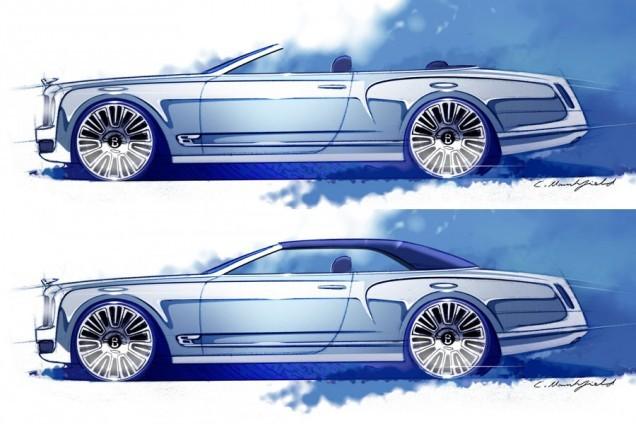 Bentley : d'autres déclinaisons de Mulsanne à venir ?