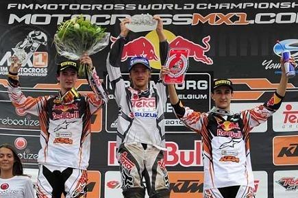 Motocross : GP de Lommel ; Herlings gagne la 2ème manche des MX 2 et  Roczen le GP