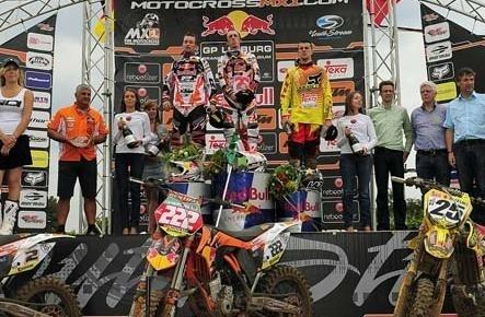 Motocross : GP de Lommel ; MX 1, leçon deux en seconde manche pour Antonio Cairoli
