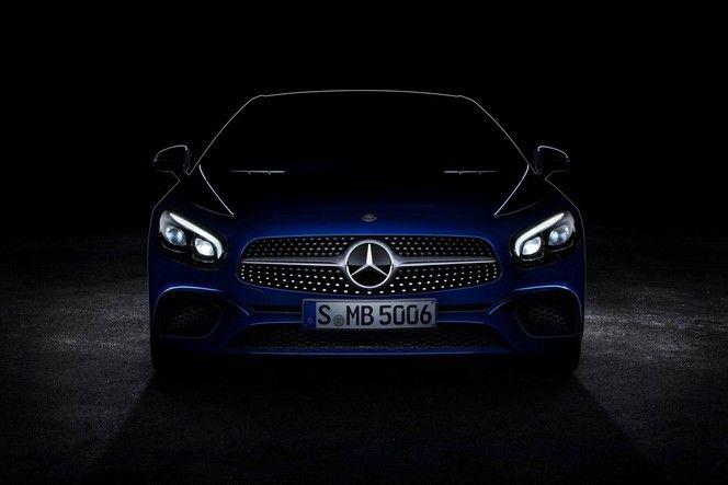 Mercedes annonce le restylage du SL