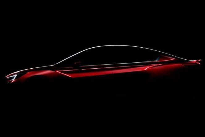 Subaru dévoile une partie de l'Impreza berline concept