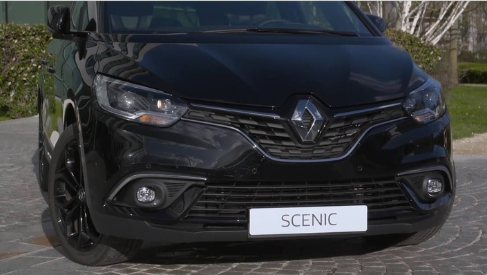 Renault : série spéciale Black Edition pour le Scénic