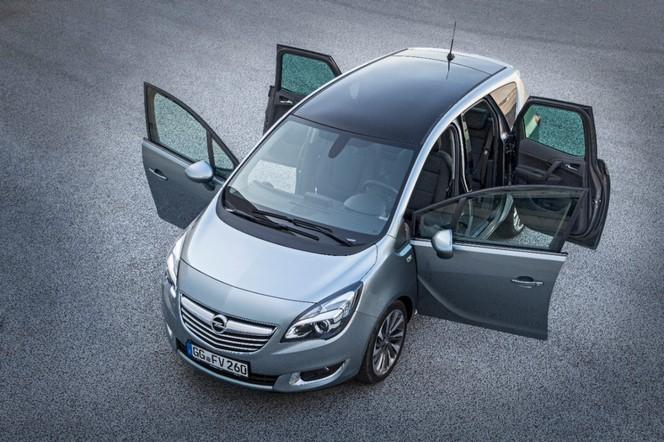Un diesel de 95 ch pour le Nouvel Opel Meriva